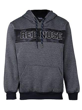 Red Nose Moletom com Capuz Masculino Red Nose