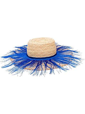 Forte_Forte fringed sun hat - Neutro