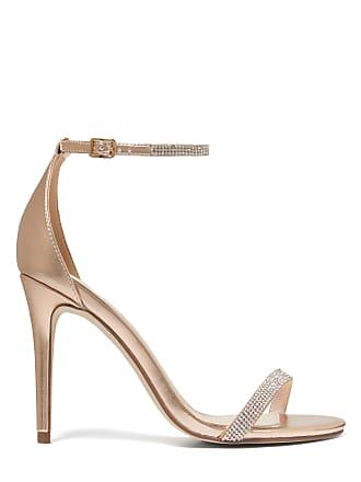 Forever New Antonia Diamante Strap Stilettos - Rose Gold - 36