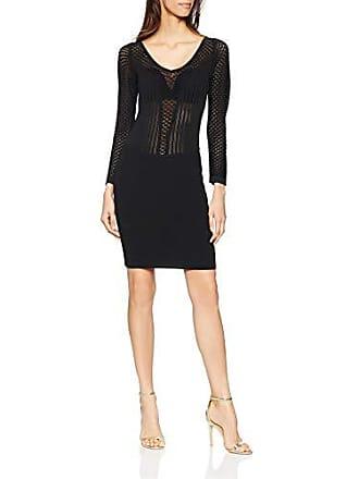 4859f6e58ee1 Guess BIANDINE Sweater Dre Vestito Elegante, Nero (Jet Black A996 Jblk),  Medium