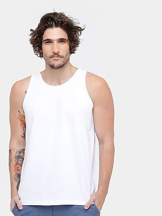 KOHMAR Camiseta Regata Básica Masculina kohmar- Branca- 101
