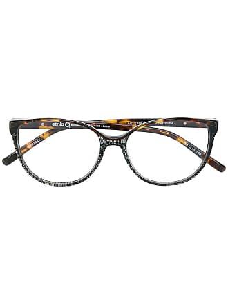 Etnia Barcelona Armação de óculos quadrada - Marrom