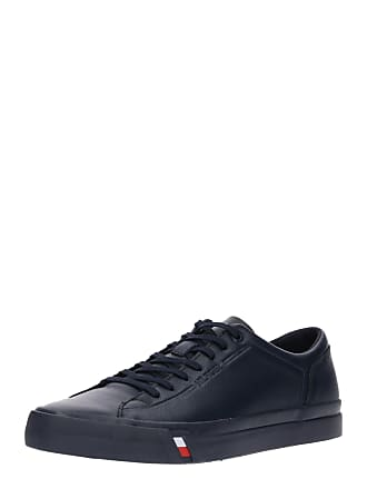 d4feb723c1ee9 Tommy Hilfiger Sneaker CORPORATE LEATHER SNEAKER navy