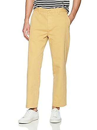 Obey Mens Hard Work Pant, Dusty Yellow 31
