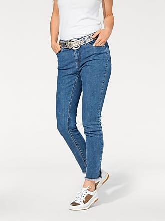 e1e17f10adfa Heine Damen Jeans in Röhrenform, blau, heine CASUAL, Material  Baumwolle,  Polyester