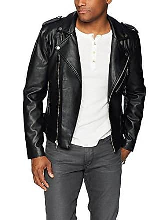 Mens Guess Faux Leather Jackets Shop Now At Usd 69 99 Stylight