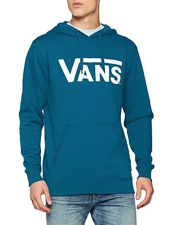 61ae8e63996f Vans Apparel Menss Classic Pullover Hoodie Blue (Corsair-White Ydw)