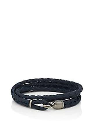 Miansai Mens Trice Wrap Bracelet Black