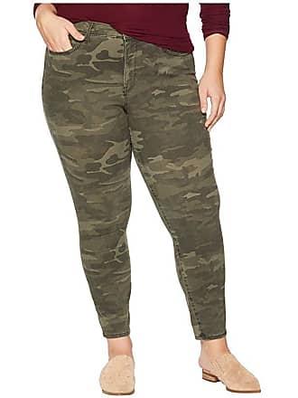 NYDJ Plus Size Plus Size Ami Skinny Ankle in Camo (Camo) Womens Jeans