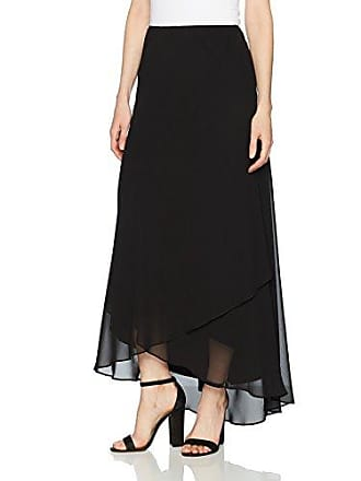 f575b7d58e Alex Evenings Womens Long Skirt Various Styles (Petite and Regular Sizes),  Black,