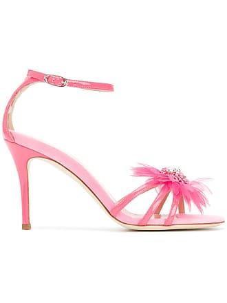 30c093a7ad1ae Giuseppe Zanotti Sandali con applicazioni piume - Di Colore Rosa