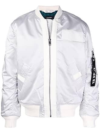 Veste cuir blanc diesel