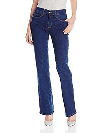 NYDJ Womens Sarah 5 Pocket Bootcut Jeans, Dark Wash, 2