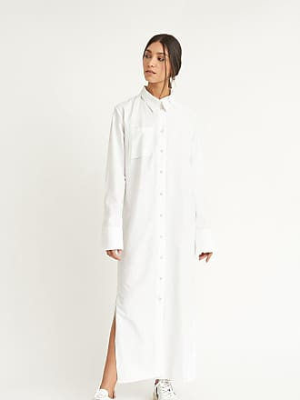 Wylde Sophie White Shirt Dress
