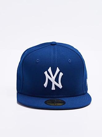 New Era 59 Fifty MLB Basic NY Yankees Royal Optical White d4c6cfc0c9aa3