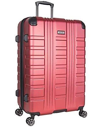 Kenneth Cole Reaction Kenneth Cole Reaction Scotts Corner 28 Hardside Expandable Spinner 8-Wheel Luggage with TSA Locks, Red