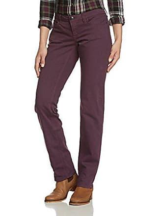 3b3e9b2fd6858 EDC by Esprit Five - Jeans - Droit - Femme - Violet (Mulberry Burst 519