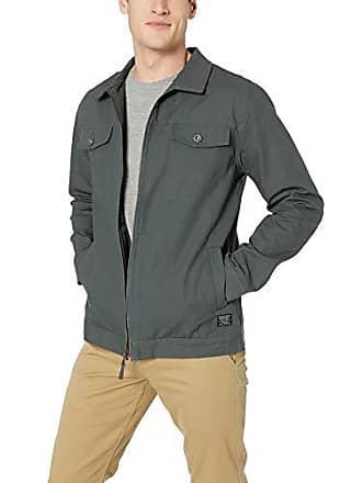 Rip Curl Mens Hansen Jacket, Grey, L