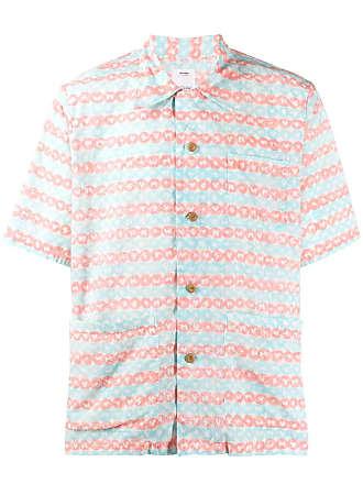 Visvim logo print shirt - Rosa