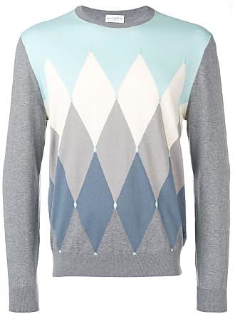 Ballantyne Suéter com estampa geométrica - Cinza