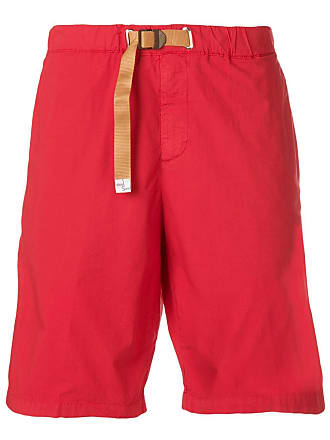 White Sand Short reto com cinto - Vermelho