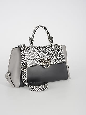 Salvatore Ferragamo Leather SOFIA Top Handle Bag with Python Skin Details  size Unica 231947d8c4ae4