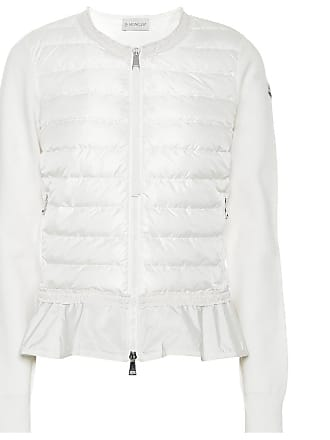 Moncler Quilted down cotton cardigan