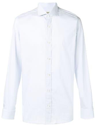 Ermenegildo Zegna plain tailored shirt - White