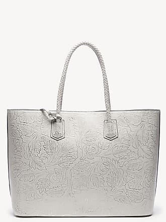 Sole Society Womens Hawna Tote Vegan Metallic Linen Vegan Leather From Sole Society
