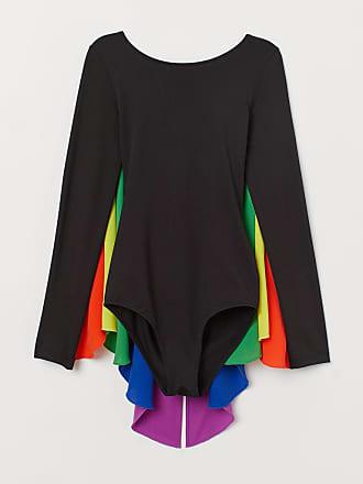 H&M Bodysuit with Cape - Black