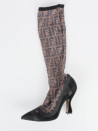 Fendi 11cm Tulle Boots size 39