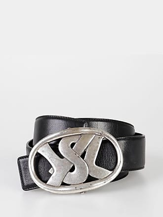Saint Laurent RIVE GAUCHE 40 mm Leather Belt size 80
