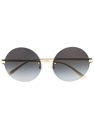 Dolce & Gabbana Eyewear Óculos de sol redondo - Dourado