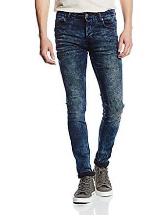 4c04044086 Solid Jeans - Dexter Stretch-Azul Hombre Azul (Dark Used 9020) W32