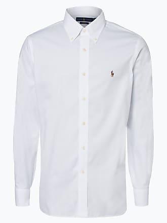 19947aba66a2cb Polo Ralph Lauren Herren Hemd - Bügelleicht - Slim Fit weiss