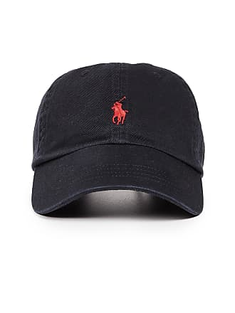 59a22ccb994 Polo Ralph Lauren Classic Pony Cap - Black Red