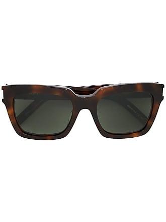 Saint Laurent Eyewear Óculos de sol Bold 1 - Marrom