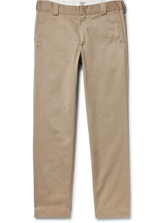 Carhartt Work in Progress Master Tapered Twill Trousers - Beige