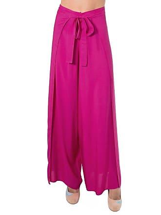 Lucy in the Sky Calça pantalona envelope pink