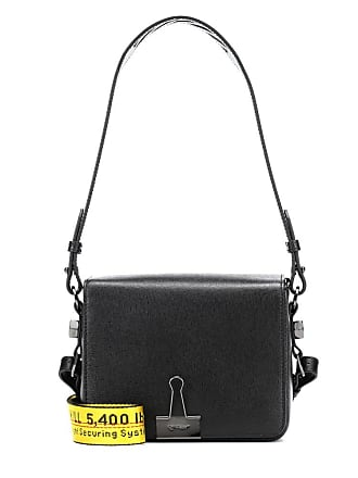 ca91e3595f96 Off-white Binder Clip leather shoulder bag