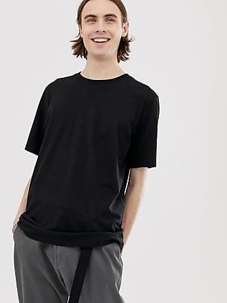 Weekday Frank - T-Shirt-Schwarz