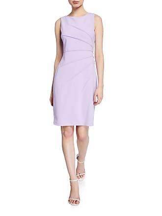 Iconic American Designer Starburst Sheath Sleeveless Dress