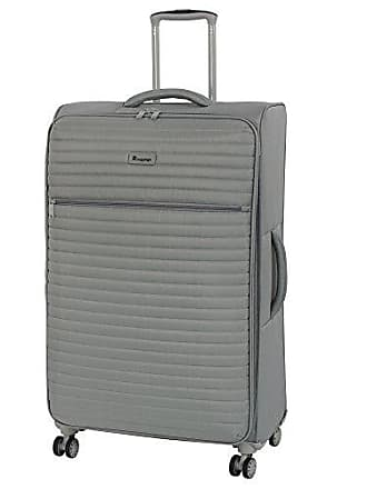 IT Luggage 31.3 Quilte Lightweight Expandable Spinner, Flint Grey