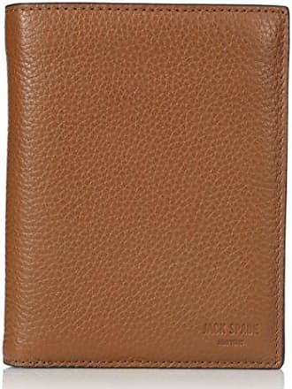 Jack Spade Mens Pebble Leather Travel Wallet