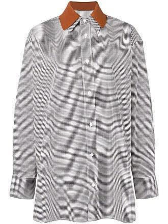 Plan C Camisa xadrez - Branco