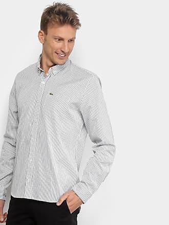 0e8bbe66755f7 Lacoste Camisa Lacoste Manga Longa Masculina - Masculino