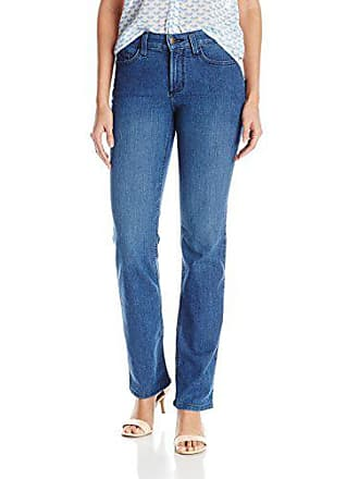 NYDJ Womens Marilyn Straight Leg Jeans, Yucca Valley, 4