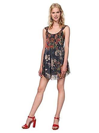 98194d2e27dc8 Desigual Dress Straps Niels Woman Blue