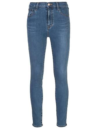 J Brand high-rise skinny jeans - Azul