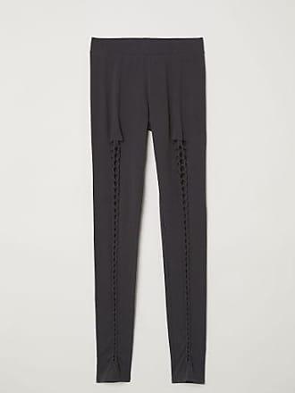 H&M Leggings with Lacing - Black